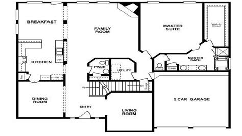 five bedroom home plans 6 bedroom house plans