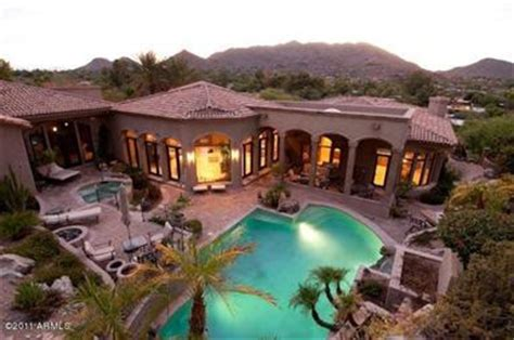 homes for sale with pools in mummy mountain estates