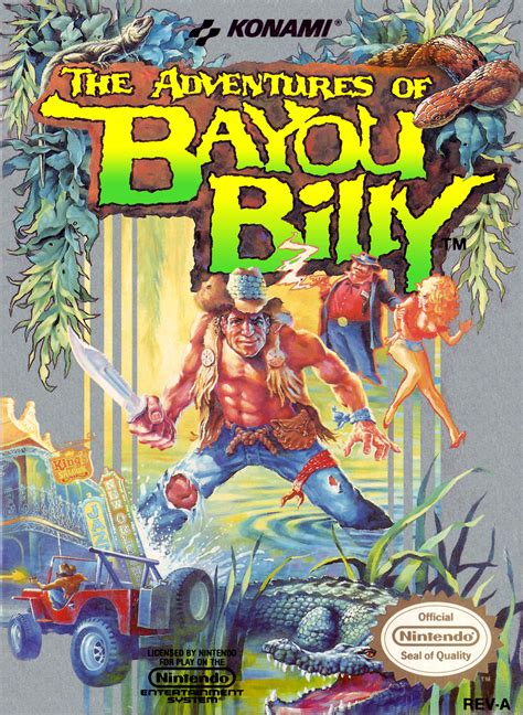 The Adventure Of The the adventures of bayou billy bomb