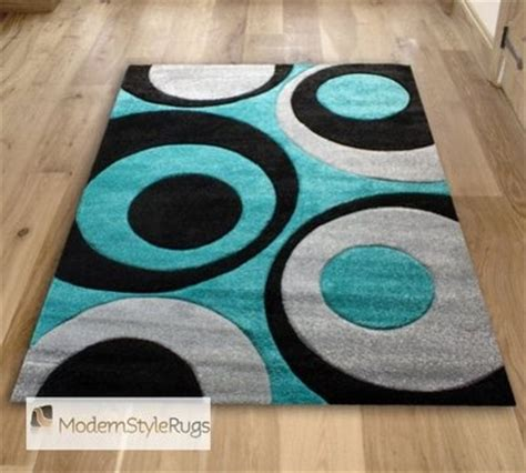 teal and black rug teal blue black and grey circles pattern rug modern design in 2 sizes circle pattern