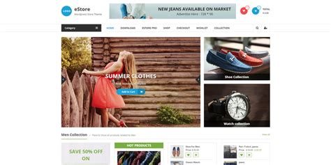 15 best ecommerce wordpress themes 10 top free responsive woocommerce wordpress themes