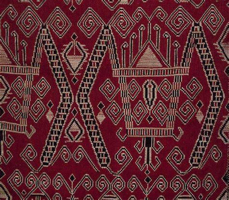 Borneo Ikat tribal kain sungkit sarawak iban