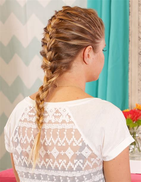 french public hair how to french braid more com