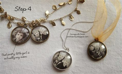 how to get into jewelry saving with diy photo pendant for 2 50