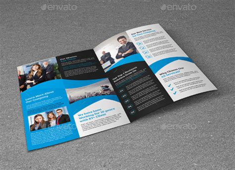 bi fold brochure template publisher 15 word bi fold