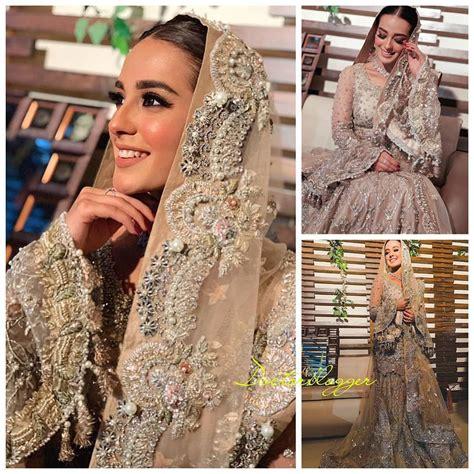 beautiful clicks  gorgeous iqra aziz  valima dress