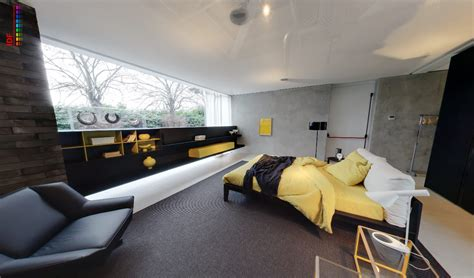 grey yellow and black bedroom yellow and grey bedroom with fitted storage and black