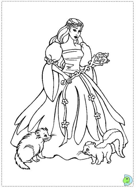 coloring pages swan princess of swan lake coloring page dinokids org