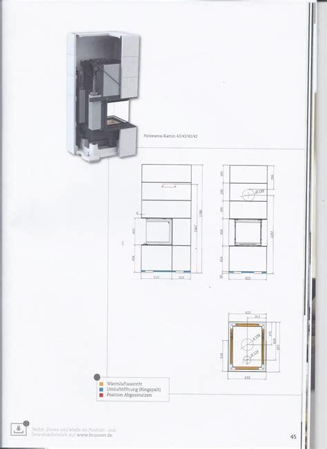 sezione camino progetto quot il camino cuore caldo della casa quot a borgoforte