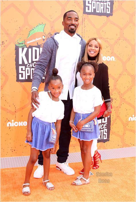 Celebrity Interior Homes j r smith family at kids choice sports sandra rose