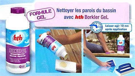 Produit Nettoyage Liner Piscine 4340 by Nettoyant Ligne D Eau D 233 Tartrant Et D 233 Graissant Hth Borkler