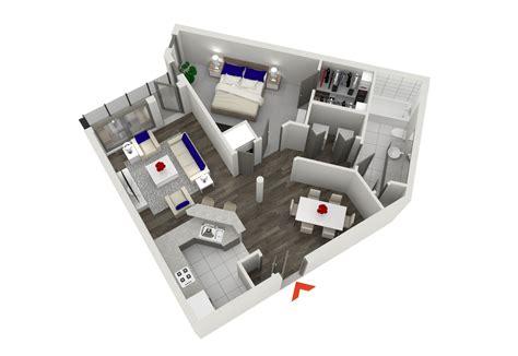 studio   bedroom apartments  atlanta highland walk