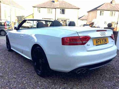 audi a5 convertible white audi 2011 a5 s line 2 0 tdi cabriolet convertible ibis
