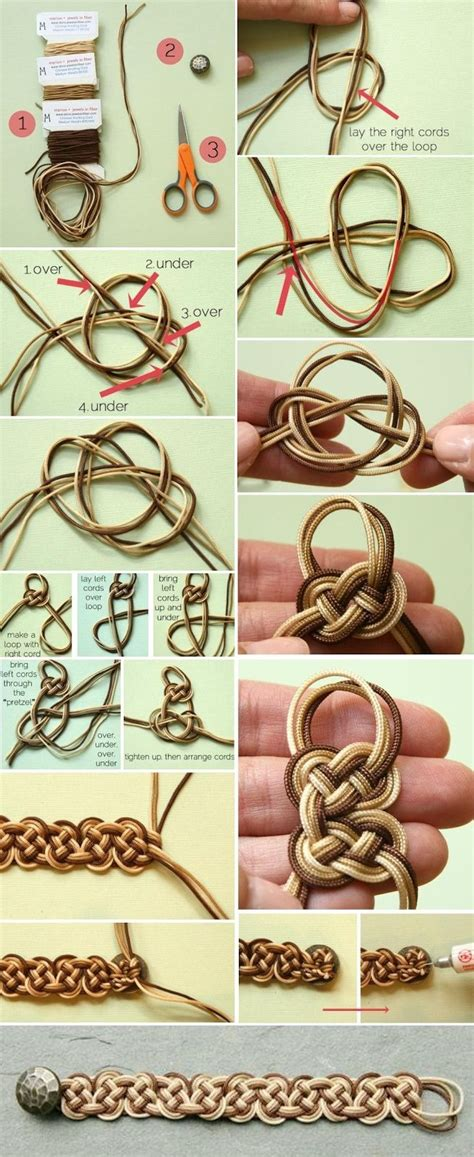 Knots Tutorial - linky vegan hummus bites recipe ombre celtic knot
