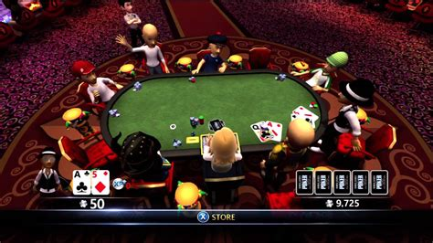 world series  poker full house pro xbox   lucky win youtube