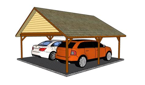two car carport plans pdf diy 2 car wood carport plans download amish direct