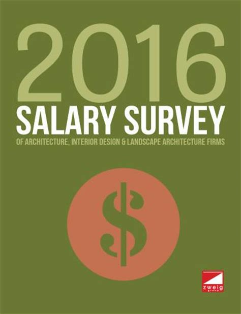 Landscape Architecture Salary Survey 2016 Salary Survey Of Architecture Interior Design
