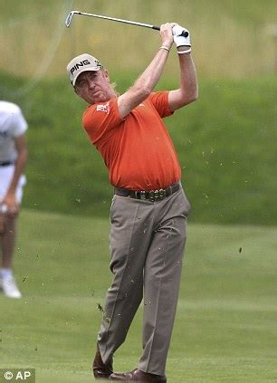miguel angel jimenez swing graeme storm leads way in french open daily mail online