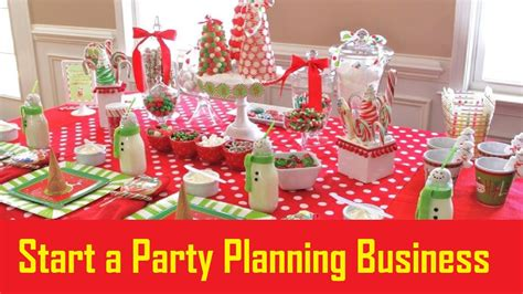 party themes business how to start a party planning business small business