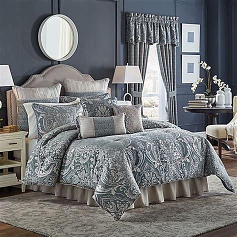 slate blue comforter set buy croscill 174 gabrijel king comforter set in slate blue