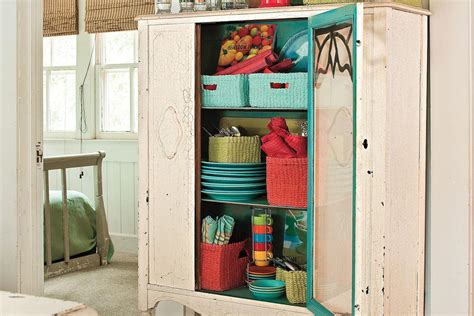 creative kitchen cabinet ideas vintage storage space creative kitchen cabinet ideas southern living