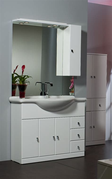 mobile bianco bagno mobile bagno cleo cm 105 bianco bh