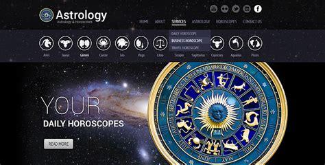templates for astrology website astrology wordpress theme horoscope wordpress template
