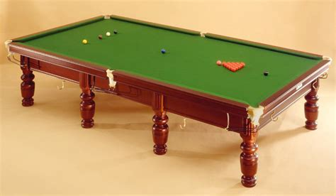 snooker tables sizes images