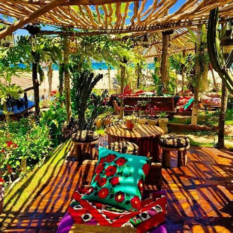 Colorful Tropical Plants - unique restaurants in bali top 10
