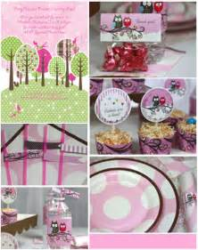 owl baby shower decorations favors ideas