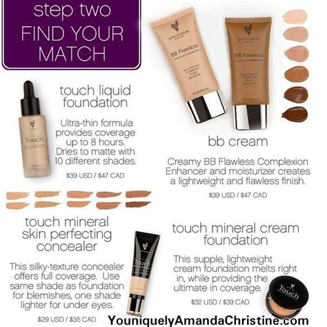 Vov B B Liquid Concealer 81 best images about younique touch mineral foundation bb
