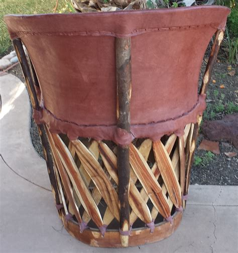 mexican equipale standard leather chair tobacco