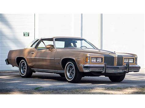 1976 pontiac grand prix lj 50th anniversary edition for sale classiccars com cc 899029