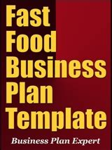 fast food business plan template free word excel