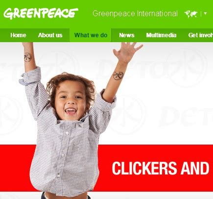 Greenpeace S Detox by Seo Activism Detox Caign By Greenpeace