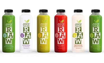Detox Juice Seattle by Juice From The Cleanses Juice From The Groupon