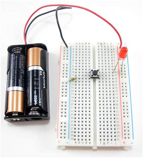 breadboard circuit exles how to use a breadboard