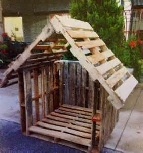 Church Treehouse - manger created using pallets pallet crafts pinterest