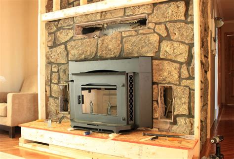 How To Build A Fireplace Insert by Fireplace Build Out Insert In Our Humble Abode