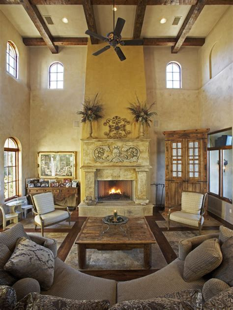 mediterranean living room decor palmieri residence