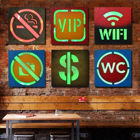 Neon Sign Home Decor 21 Styles Vintage Home Decor Led Neon Sign Restaurant Bar Cafe Decorative Signboard Wall