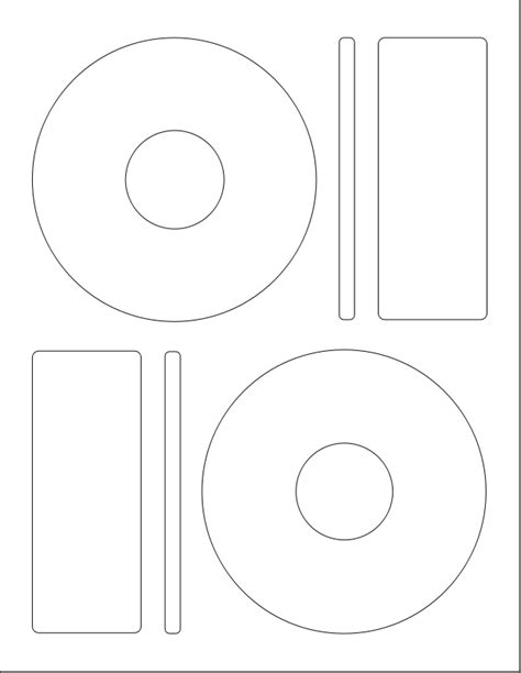 Free Clipart Popular 1001freedownloads Com Cd Label Template
