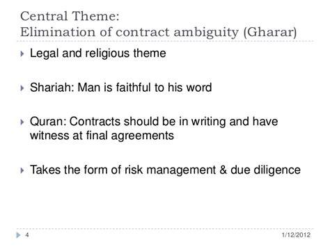 quranic themes and principles principles of islamic finance