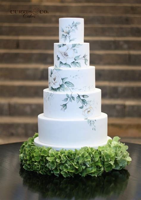 Traumhafte Hochzeitstorten by Beautiful Wedding Cakes From Curtis Co Modwedding