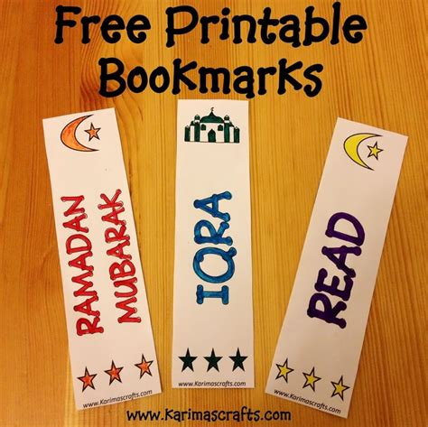 printable islamic bookmarks 1000 images about bookmarks on pinterest eid gift tags