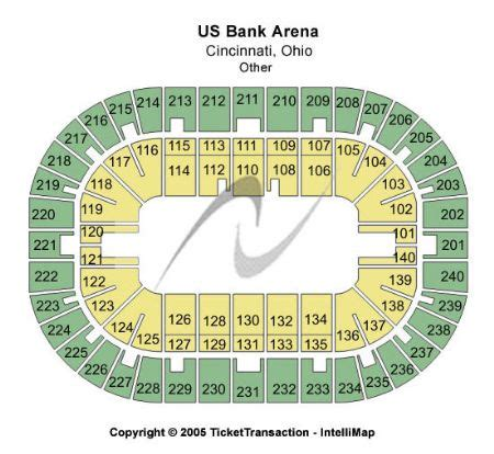 map us bank arena us bank arena tickets us bank arena in cincinnati oh at gamestub