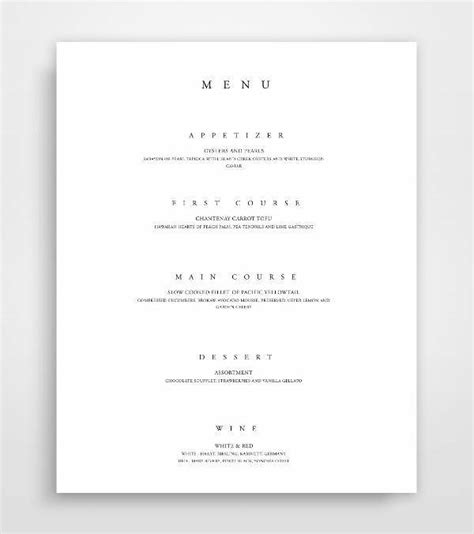 rehearsal dinner menu template menu card design design trends premium psd vector