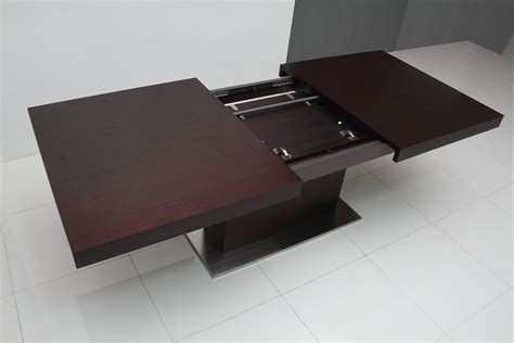 modern extendable dining table top modern extendable dining table toronto on dining room