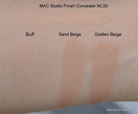 color sand and buff okay ok makeup swatch update revlon colorstay
