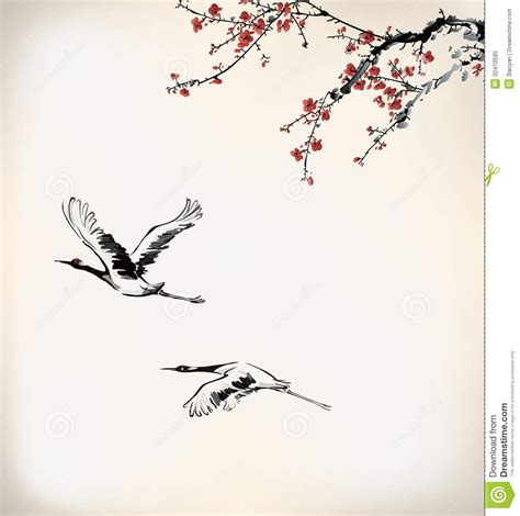 japanese bird tattoo designs ink winter sweet paint wintersweet birds 32410595